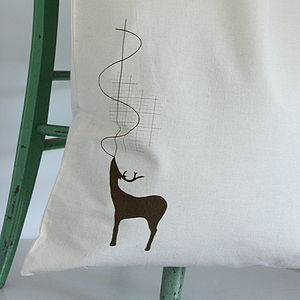 Stag Soundwave Reusable Cotton Shopper
