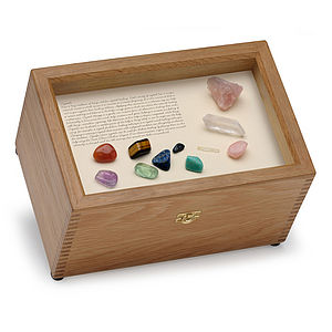 Crystal Oak Keepsake Box