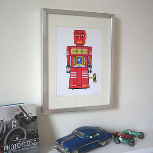 Tin Toy Art Print