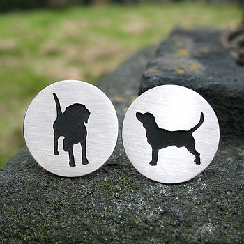 Personalised Dog Cufflinks