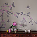 Aegle Enchanted Bird Wall Sticker