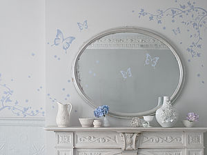 Butterfly Wall Stickers - children's room accessories