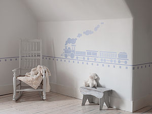 Train Wall Sticker - painting & decorating