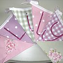 Personalised Child's Bunting
