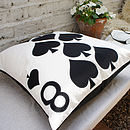 8 Spades - Playing Card Cushion 50x50
