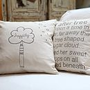 Happily Ever After Tree Cushion