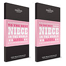 Nephew And Niece Chocolate Bars