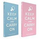 Keep Calm - New Baby Chocolate Bar