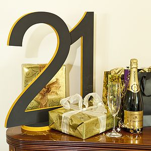 Large Bespoke Wooden Numbers - outdoor decorations
