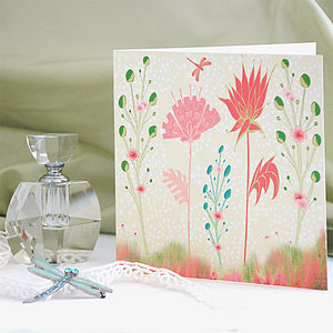 Fantasy Flowers Card - view all mother's day gifts