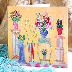 Yellow Flower Shop Card