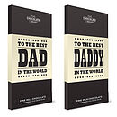'World's Best Dad' Chocolate Bar