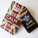 Grunge Union Jack Keep Calm Phone Case