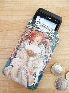 Art Nouveau Champenois Phone Case