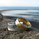Silver and Gold Coast Rings