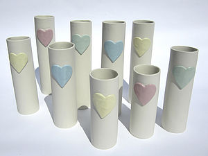 Sweet Hearts Vase - decorative accessories