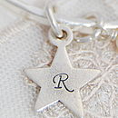 Personalised Shape Initial Charm
