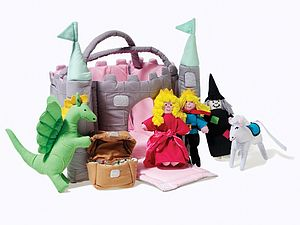 Soft Play Magical Castle - gifts for children