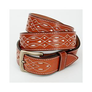 Spanish Leather Belt - belts