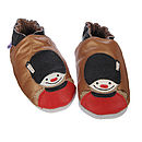 'On Parade' Soft Leather Baby Shoes