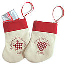 Personalised Christmas Stocking Decoration