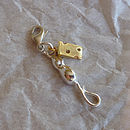 Mouse And Cheese Silver Charm