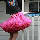 Angels Face Pettiskirt Tutu Bright Pink Soda