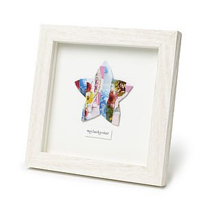 Personalised Framed Star Collage Picture - gifts for teenagers