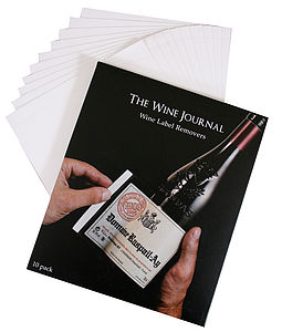 Wine Label Removers - food & drink gifts