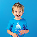 1st Birthday T-shirt - Aqua Blue