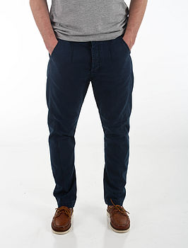 Men's Tapered Chinos Navy