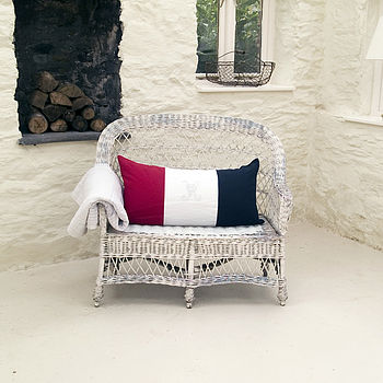 Tricolore Bolster Cushion
