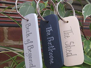 Personalised Key Ring - womens