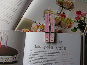 Handpainted Recipe Peg
