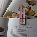 Handpainted Recipe Peg