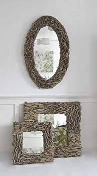 Aphrodite Driftwood Mirror 'designed by'