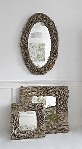 Aphrodite Driftwood Mirror 'designed by' - mirrors