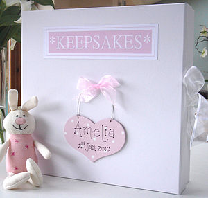 Personalised Keepsake Or Memory Box - albums & keepsakes