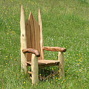 Wooden Story Telling Chair