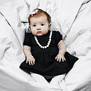 Baby's Cotton Pearl Dress