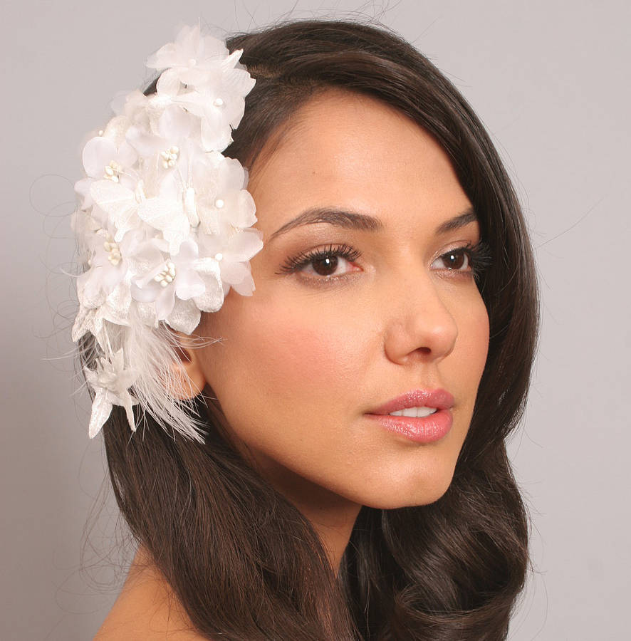 Bridal Headpieces Philippines - Vintage style floral bridal headpiece
