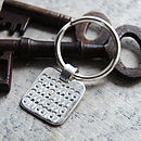 Binary Love Keyring