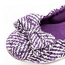 Plum Chic Ballerina Shoes *RRP £45*