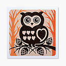 Owl Card Front