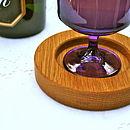 oak button