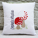 Made Up Mushrooms Cushion Cover
