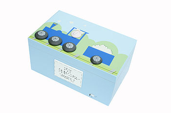 Personalised Train Keepsake Box