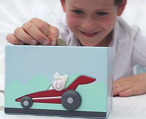 Car Money Box - children's room accessories