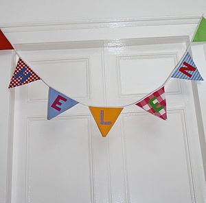 Personalised Bunting - children's parties