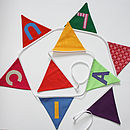 Personalised Bunting - Lucia